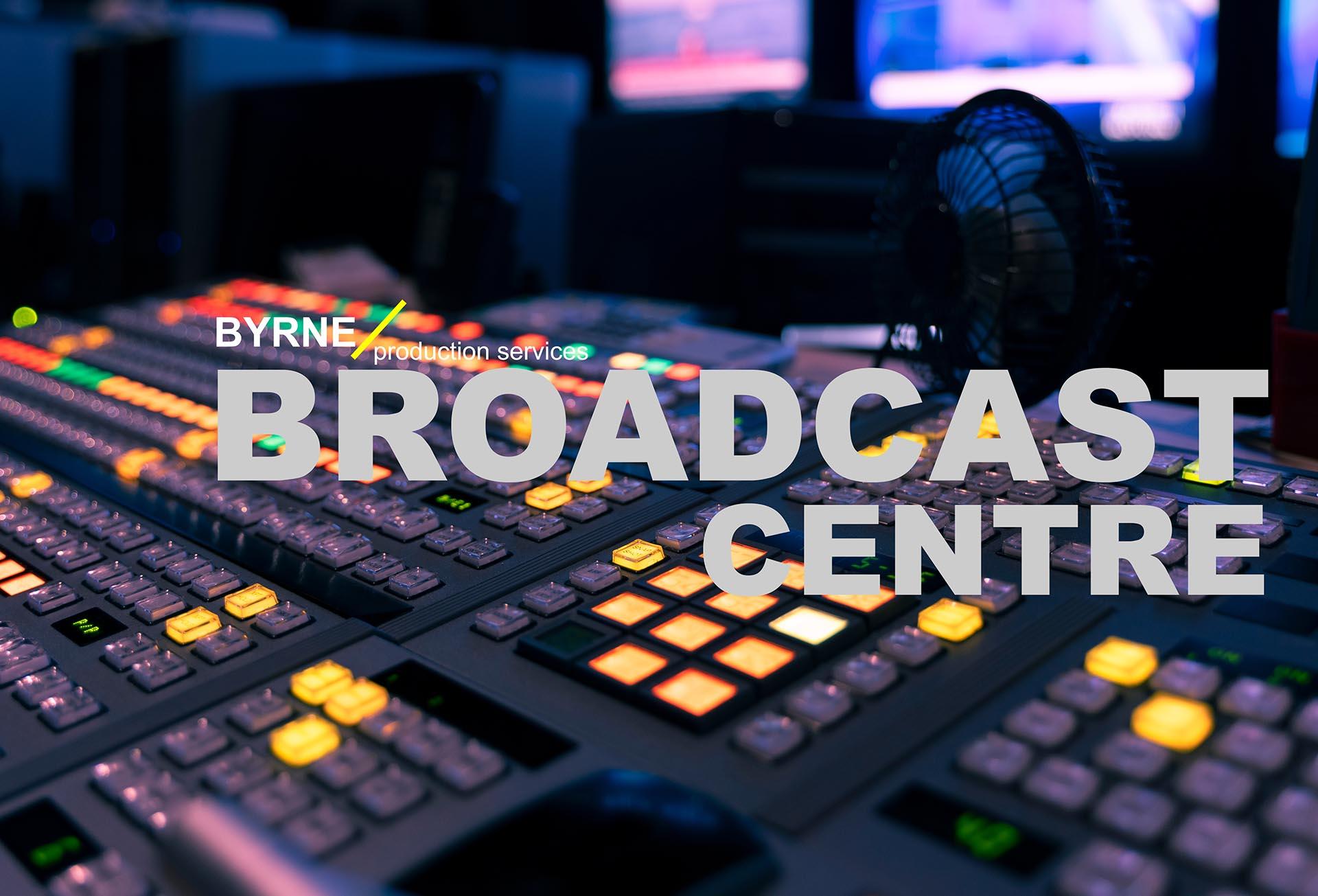 Broadcast Centre Header